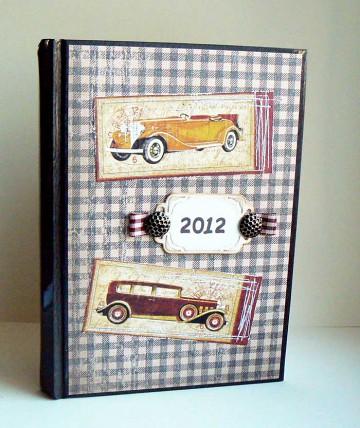 retro kalendarz