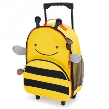 walizka-skip-hop-zoo-z-kolkami-pszczolka