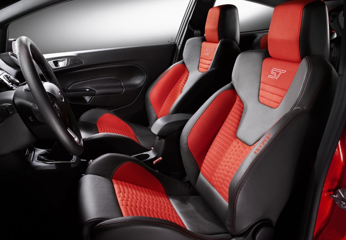 fotele Ford Fiesta