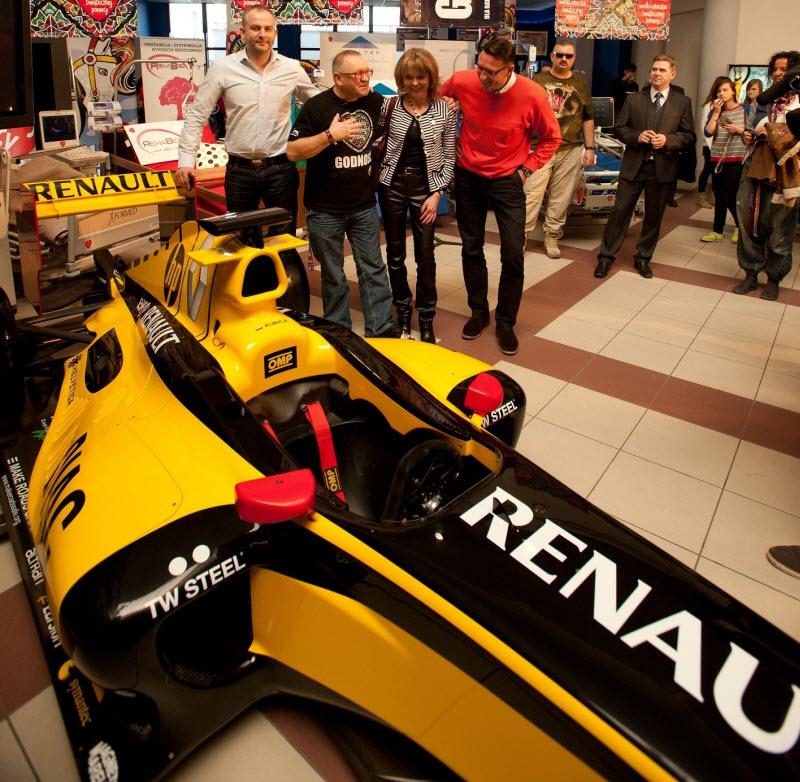 WOSP Bolid Renault fot Arek Drygas 2