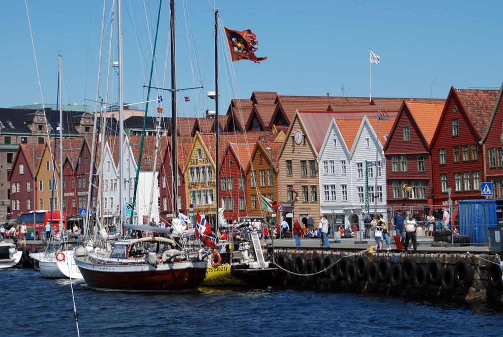 norwegia statki