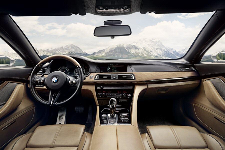 Nowe BMW serii 8 wnętrze