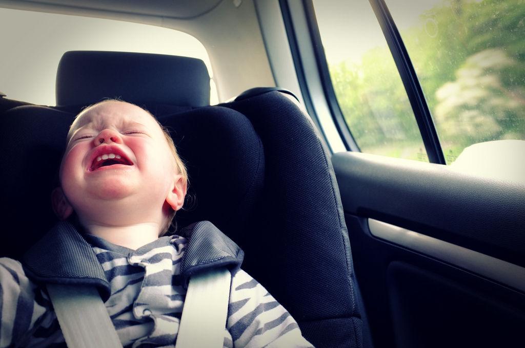 Jak przekonau0107 dziecko do jazdy w foteliku?